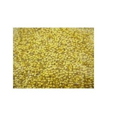 Lot de 200 Perles à écraser en métal doré 2mm