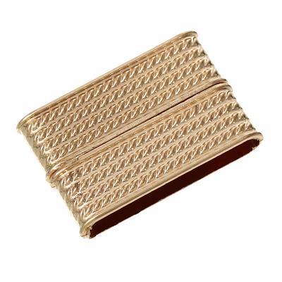 Un grand  Fermoir aimanté  Rectangle Or Clair, 3.2cm x 21.0mm   pour bracelets