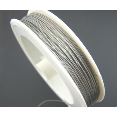 Bobine de fil câblé 70 Mètres  en acier gainé de nylon
