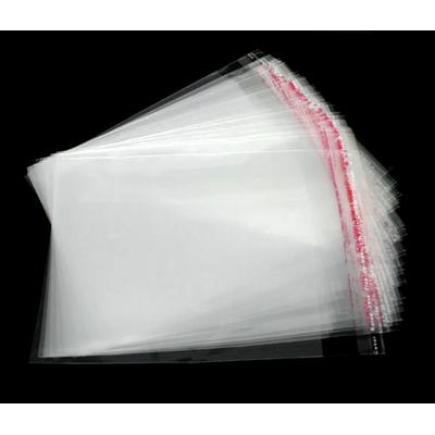 Lot de 50 sachets emballages transparent cristal autocollants 10x9cm pour perles