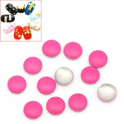 Lot de 100 Strass thermocollant rose  ou clous à coller, stickers 3 mm