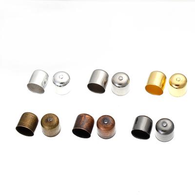 Lot de 10 Embouts pour Cordons Collier Bracelet  Couleur Mixte