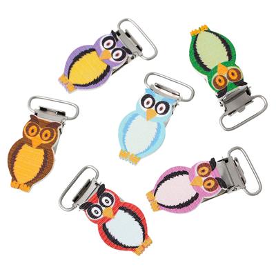 Un clip pour attache-tétine  pince pour attache sucettes ou bretelles