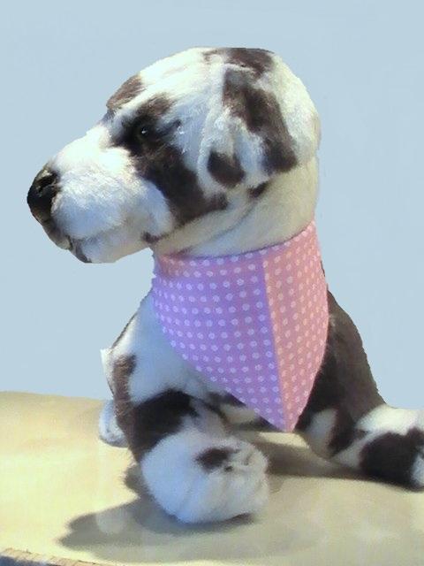 bandana pour chien bandana pour chien rose pois blancs pull. Black Bedroom Furniture Sets. Home Design Ideas