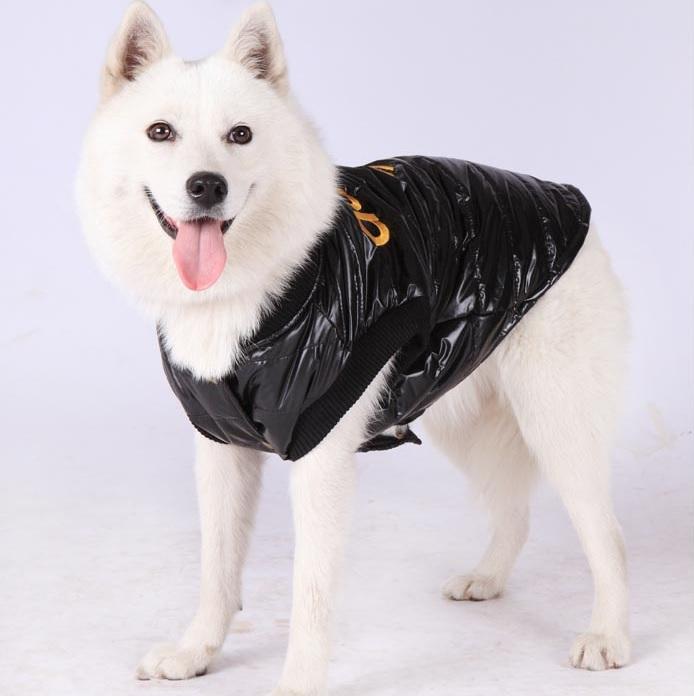 manteau pour chien doudoune adidog noire pour chien. Black Bedroom Furniture Sets. Home Design Ideas