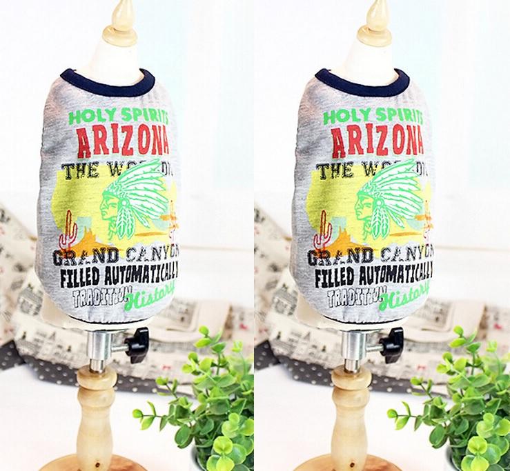 T-SHIRT GRIS ARIZONA POUR CHIEN