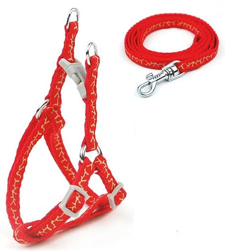 Harnais baudrier harnais pour chien avec laisse taille xs - Fabriquer un harnais pour chien ...
