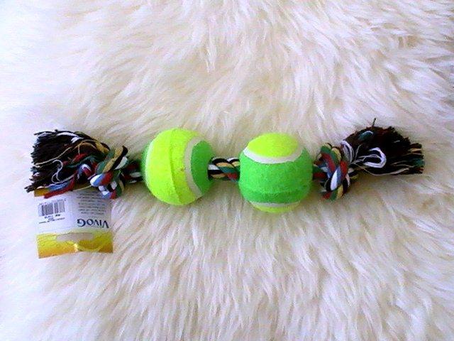 jouet pour chien corde tress e pour gros chien corde. Black Bedroom Furniture Sets. Home Design Ideas