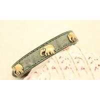 COLLIER POUR CHIEN collier vert éléphant pour chien