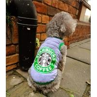 T SHIRT POUR PETIT CHIEN - T shirt gris Coffee pour chien