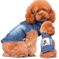 MANTEAU POUR CHIEN veste en jean Fashion pour chien