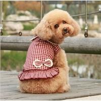 ROBE POUR CHIEN robe rétro rouge pour chien