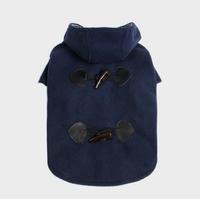 MANTEAU POUR CHIEN duffle coat bleu pour chien