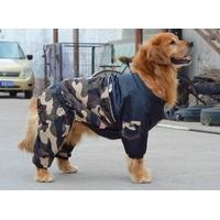 MANTEAU POUR CHIEN combinaison camouflage kaki pour chien