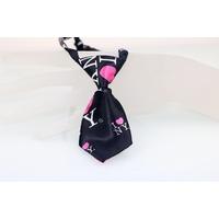 CRAVATE POUR CHIEN cravate noire I LOVE N.Y. pour chien