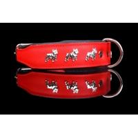 COLLIER CUIR POUR CHIEN collier rouge pour chien Bouledogue Français