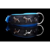 COLLIER POUR CHIEN collier bleu pour chien Bull Terrier