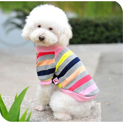 PULL A RAYURES POUR CHIEN
