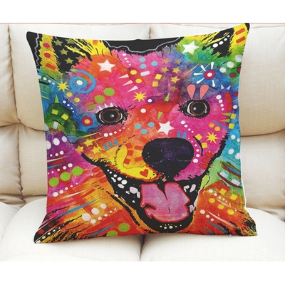 COUSSIN DECORATIF POP ART