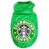 T-SHIRT COFFEE VERT POUR CHIEN