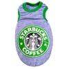 T-SHIRT COFFEE GRIS POUR CHIEN
