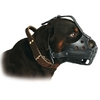 MUSELIERE POUR CHIEN ROTTWEILER. MUSELIERE MADE IN FRANCE.