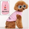 POLO ROSE LOVE MOMMY POUR CHIEN