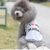 POLO GRIS LOVE MOMMY POUR CHIEN