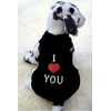 T-SHIRT I LOVE YOU POUR CHIEN