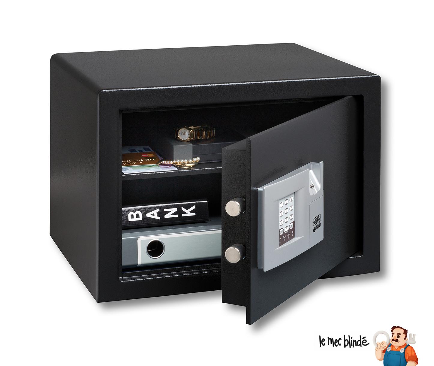 coffre fort h tel burg w chter p3e serrure electronique 38 l le mec blind. Black Bedroom Furniture Sets. Home Design Ideas