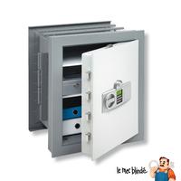 Coffre-fort blindé à encastrer BURG WÄCHTER WT10/5 350 E Serrure Electronique et biométrique 37 L