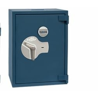 Coffre-fort blindé haute qualité OLLE AP3ERP Serrure à Clé et Electronique 100 L