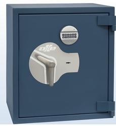 Coffre-fort blindé haute qualité OLLE AP2E Serrure à Clé et Electronique 45 L