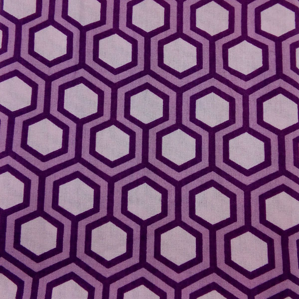 hexagone purple
