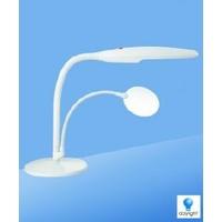 Lampe daylight™ sur socle de table, blanc