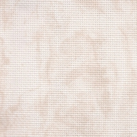 Toile aida beige marbré 7 points