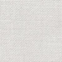 Toile Lugana 10 fils blanc 100