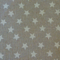 Ramie coton étoiles