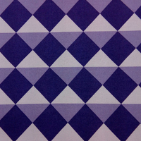 Tissu biologique carrés purple
