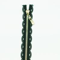 Fermeture dentelle 18 cm noire