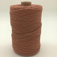 Corde à macramé brun clair