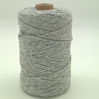 Corde à macramé gris clair