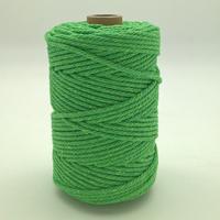Corde à macramé vert vif