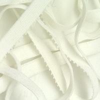 Elastique lingerie à picot blanc 9 mm