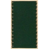 Galon aida coloris vert 5 cm avec feston doré