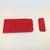 attache soutien gorge rouge