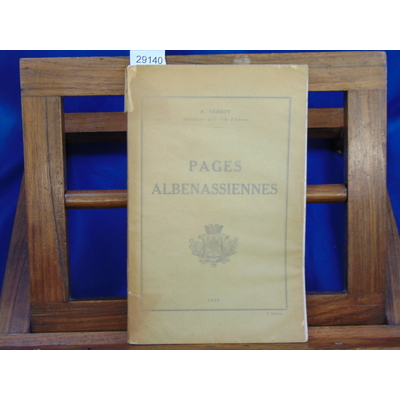 Verrot R : Pages Albenassiennes...