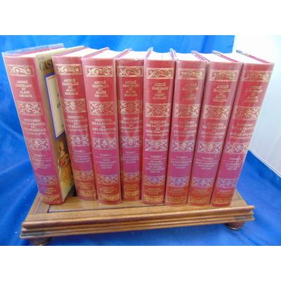 Castelot André et : Histoire de la France  et des Françaises( 8 volumes)...