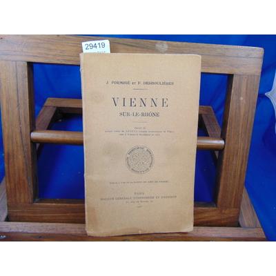 Formigé J : Vienne Sur-Le-Rhone...