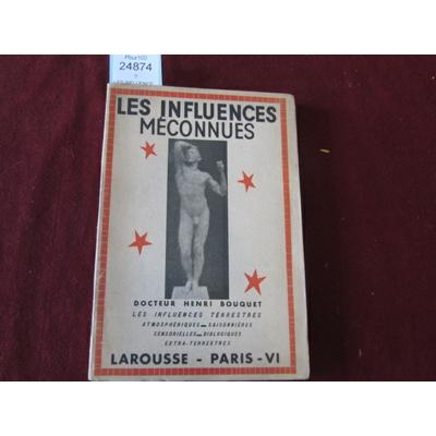 BOUQUET DOCTEUR : LES INFLUENCES MECONNUES...